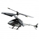 Rechargeable 1100mAh 3-CH IR R/C Helicopter w/ Remote Controller + USB - Black