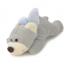 4021 Cute Bear Puppe Magnete - Grey