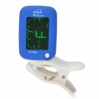 ENO ET-05A Mini Clip Digital Tuner for Bass + Violin + Ukulele + More - Blue + White