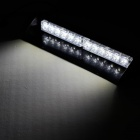 18W 150lm 12-LED White Flashing Light Car Decoration Lamp - White (DC 12V)