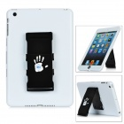 360 Degree Rotary Protective Case w/ Stand for iPad Mini - White