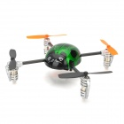 Walkera Rechargeable 4-CH 2.4GHz Radio Control R/C Ladybird Model Toy w/ DEVO4 Transmitter - Green