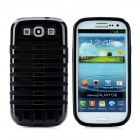 2-in-1 Protective Detachable Back Case for Samsung Galaxy S3 / i9300 - Black