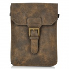 Protective PU Leather Pouch for iPad Mini - Brown