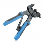 TALON TL-H510B Network Cable Crimping / Stripping Pliers / Tool for RG-58 / 59 + More - Black + Blue