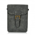 Protective PU Leather Pouch for iPad Mini - Black