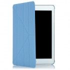 Creative Protective PU Leather Stand Case for Ipad MINI - Blue