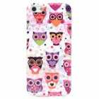 MYTH IDEAS Cartoon Owl Style Protective PC Back Case for Iphone 5 - Multicolor