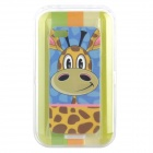 Airwalks Cartoon Giraffe Style Protective PC Back Case for Iphone 5 - Blue + Brown + Yellow