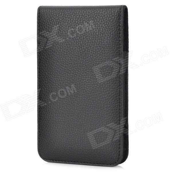 stylish pu leather sleeve pouch case for samsung galaxy note ii n7100 htc one x brown A20B Protective PU Leather Waist Bag Case for Samsung Galaxy Note II / N7100 - Black
