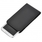 A20B Protective PU Leather Waist Bag Case for Samsung Galaxy Note II / N7100 - Black