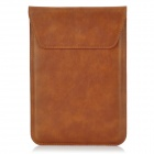Protective Genuine Leather Pouch for Ipad MINI - Brown