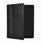 Protective PU Leather Stand Case for Ipad 2 / 3 - Black