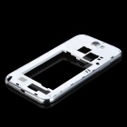 Genuine Replacement Back Cover for Samsung N7100 - White + Silver