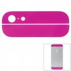 Replacement Top + Bottom Glass Back Cover for iPhone 5 - Purple