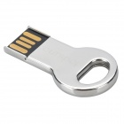C002 Mini Key Style Stainless Steel USB 2.0 Flash Drive - Silver (8GB)