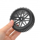 1:10 Rubber Front Tires for R/C HSP / SMT / FS / BSD SUV + Oil / Electric Car - Black (2 PCS)