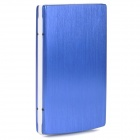 "Multi-Function Rechargeable ""10000mAh"" USB External Battery Power Bank w / Adapter - Blue"