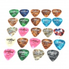 Alice A011A Celluloid Guitar Picks (24 PCS)