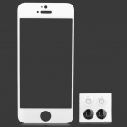 Toughened Glass Mirror Screen Protector for Iphone 5 - White