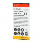 Replacement 3.7V 1500mAh Lithium Battery for Nokia Lumia 820 - White + Red + Yellow