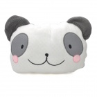Cute Panda Pattern Practical 2-in-1 Pillow + Blanket - White + Grey + Pink