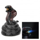 Einzigartige Cobra Form winddicht Butan Gas Lighter - Black