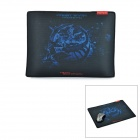 Teamscorpion FrostWyrm Cloth + Rubber Game Mouse Pad - Black + Blue