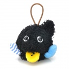 E-051 Strange Wow Prophet Plush Doll - Black + Blue + Yellow