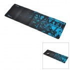 E-BLUE Cloth + Rubber Game Mouse Pad - Black + Blue (XL-Size)