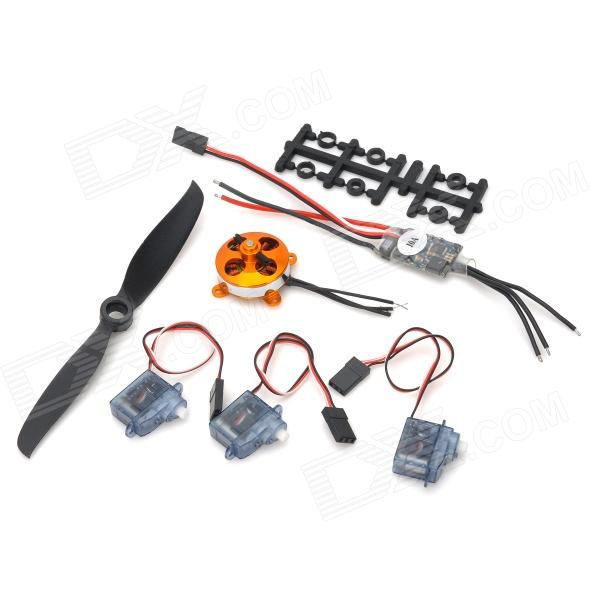 Speed Controlled by Aircraft Motor Speed Controller w/