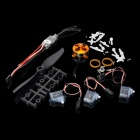 6-in-1 10A Electronic Motor Speed Controller w/ 1400KV Motor Set for Fixed Wing R/C Aircraft