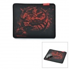 Teamscorpion Reaver Stoff + Rubber Game Mouse Pad - Schwarz + Rot
