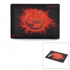 Teamscorpion X-Luca Tuch + Rubber Game Mouse Pad - Schwarz + Rot