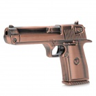 Pistol Style USB 2.0 Flash Drive - Bronze (16GB)