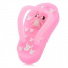Cute Slipper Style High Speed USB 2.0 Flash Drive - Pink (4GB)