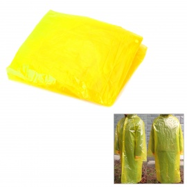 NatureHike-NH Outdoor Portable PE Raincoat - Yellow