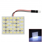 D13010907X T10 Festoon 9.6W 780lm 30-SMD 5630 LED White Car Dome Lights (DC 12V)