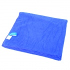 NatureHike Water Absorption Antibacterial Soft Microfiber Bath Towel - Blue