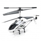 HL8086 3.5-CH 2.4GHz Radio Control R/C Helicopter - Black + Silver White