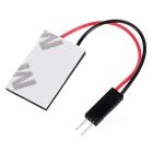 T10 + 28mm~41mm Festoon 1.2W 100~110lm Epistar 18-COB LED White Car Reading Lamp