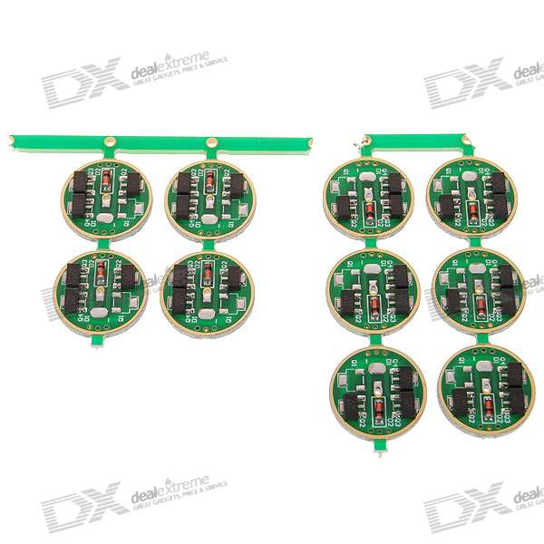 AMC7135 1050mA Regulated Circuit Board for DIY Flashlights 10-Pack