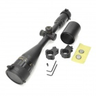 Sniper 4-16X50AOEG 4~16X 50mm R/G Dot Sight Rifle Scope w/ Extinction Barrel for 11mm Rail - Black