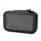 Bicycle 360 Degree Swivel Mount Holder + Waterproof Bag Set for iPhone 4 / 4S - Black