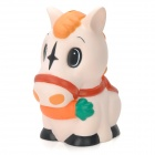 Hand Painted Cute Horse Shaped PVC Coin Money Bank
