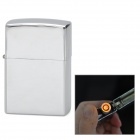 Creative USB Rechargeable Recycle Electronic Lighter - Silver