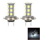 K2013010736 H7 4W 180 ~ 240lm 18-SMD 5050 LED White Car Nebelscheinwerfer (2 PCS)