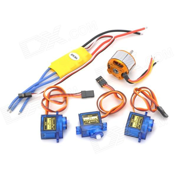 5-in-1 30A Electronic Motor Speed Controller w/ A2212-15T 930KV Motor Set for R/C Aircraft