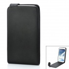 Protective PU Leather Top Flip-open Case for Samsung Galaxy Note 2 N7100 - Black