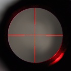 SNIPER 3~9X 50mm RGB Optical Reticle Rifle Scope for 11mm Rail - Black